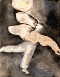 illustration - Chagall : Dieu crée l'homme