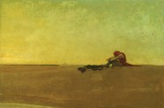 illustration - seul sur une île déserte