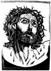 illustration - Christ souffrant