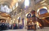 culte à l'Oratoire du Louvre, Paris