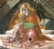 illustration - Ghirlandaio - fresque représentant Jean l'évangéliste