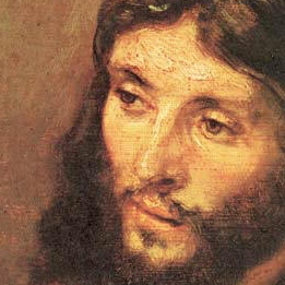 illustration - Le visage de Jésus selon Rembrandt