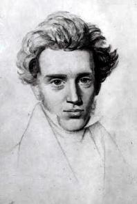 illustration - Soren Kierkegaard
