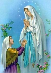 illustration - Prier la vierge Marie ou bien Dieu